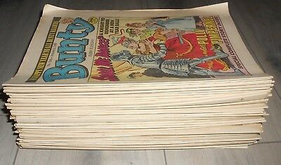 46 Issues Of The Bunty Girls Comics , 1988. All Vg Condition.