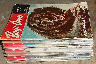 Lot Of 15 Boy,s Own Paper , 1959 To 1961 , Comic Magazines.