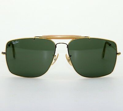 1fde33aabaa ... sale vintage bl ray ban usa explorer 62 14 aviator sunglasses excellent  w case w0504 729ac