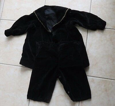 Hand Sewn Antique Child's Sailor Suit 2 pieces
