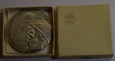 GN598 Medal The six days war 1967 Moshe Dayan at the Lions Gate in Original Box