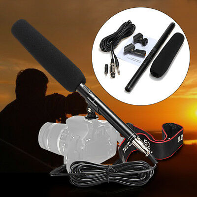 14'' Shotgun Camera Camcorder Microphone Condenser For Canon Sony Nikon Pentax