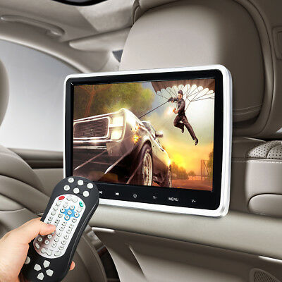 10.1 inch HD Screen Car Headrest Monitor Video LCD Active DVD FM/IR Game Player