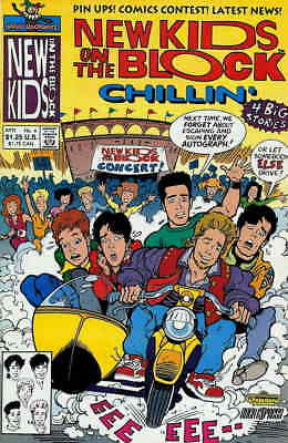 New Kids on the Block: Chillin' #4 VF; Harvey | save on shipping - details insid