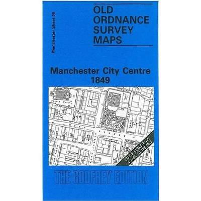 Manchester City Centre (Old O.S. Maps of Manchester) [F - Map NEW - 1989-02