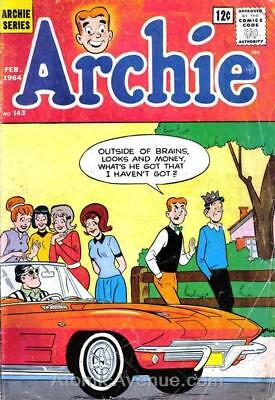 Archie #143 VG; Archie | low grade comic - save on shipping - details inside