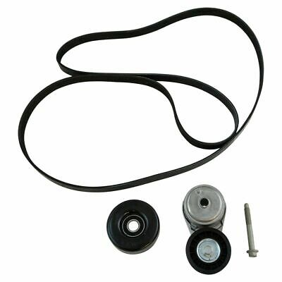 Gates Serpentine Belt Drive Component Kit For Cadillac Chevy Gmc