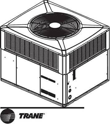Trane 4TCC3036A3000B 3 Ton Roof Commercial Gas Heat & Air New In Box