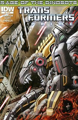Transformers Prime, The: Rage of the Dinobots #2A VF/NM; IDW | save on shipping