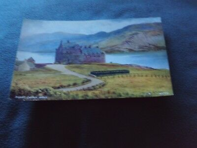 Postcard Valentine,s Duart Castle,Mull.No.A 1772.Very good condition.Unposted.
