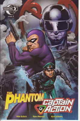 Phantom/Captain Action, The #1A VG; Moonstone | low grade comic - save on shippi