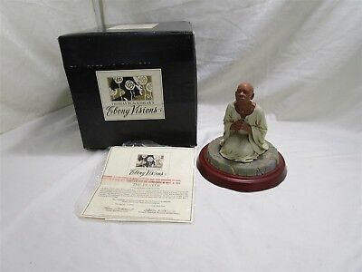 "Thomas Blackshear Ebony Visions Series "" The Prayer"" Limited Edition Figurine"