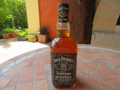 BOTTIGLIA BOTTLE 700ml.?..750 ml.?? +-1980 (circa)? WHISKEY JACK DANIELS vintage