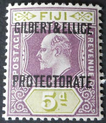 Gilbert & Ellice Islands 1911 EVII 5d SG 5 mint