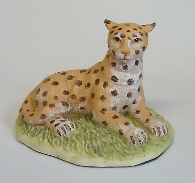 Endangered Friends Leopard Jungle Cat Animal Figurine 1991 Cbk