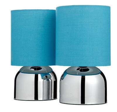 Pair of Two Touch Lamps
