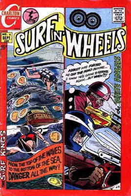 Surf n' Wheels #6 GD; Charlton | low grade comic - save on shipping - details in