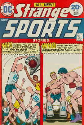 Strange Sports Stories #4 GD; DC | low grade comic - save on shipping - details