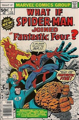 What If? #1 Marvel 1977 First Series Spider-Man Fantastic Four