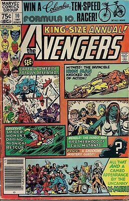 Avengers Annual #10 First. App Rouge  Marvel Comics 1981 First Print