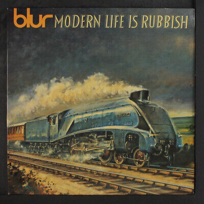 BLUR: Modern Life Is Rubbish LP (UK, original press, printed inner sleeve, very