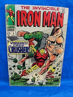 Marvel Comics The Invincible Iron Man #6 Vengeance Cries Crusher Comic Book