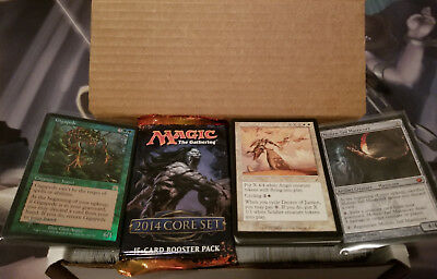 500+ Magic: the Gathering MTG Card Collection w/ Rares, Mythics & Booster Pack!
