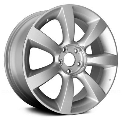 For Saab 9 7x 05 09 Alloy Factory Wheel 18x8 6 Double Spoke Silver
