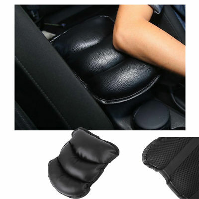 Durable Car SUV Center Box PU Armrest Console Soft Pad Cushion Cover Wear Black