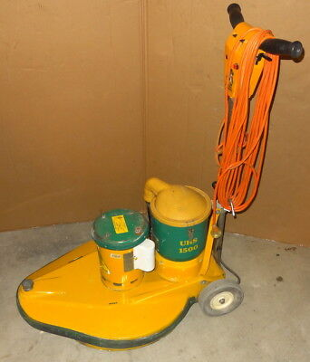 Rotobic UHS1500 Suction Floor Polisher Scrubber Buffer Burnisher 1100W 50cm Pad