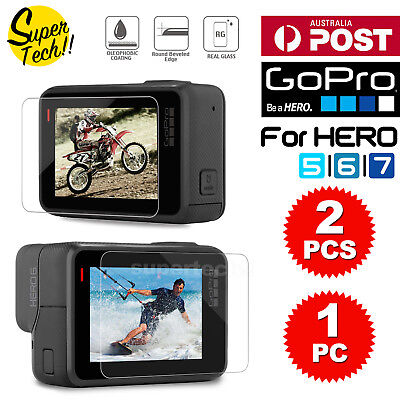 For GoPro Hero 6 / 5 LCD Tempered Glass Screen Protector Guard Cover