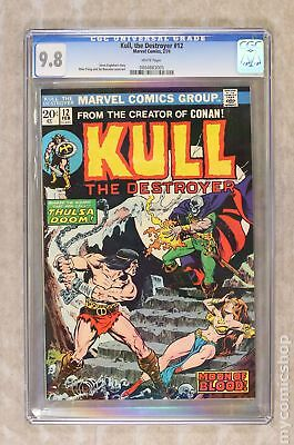 Kull the Conqueror (1st Series) #12 1974 CGC 9.8 0804883005