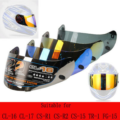 PC Motorcycle Helmet Lens For HJC CL-16 CL-17 CS-15 CS-R1 CS-R2 CS-15 FG-15 TR-1