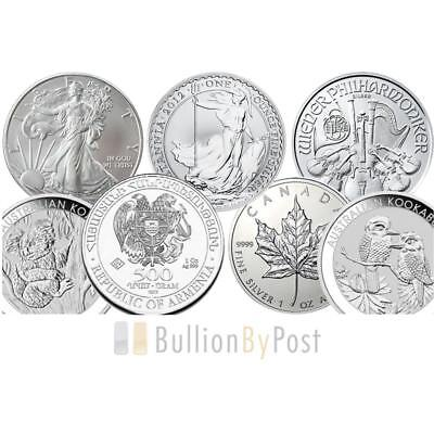 Grade B - 1oz Silver Coins Best Value