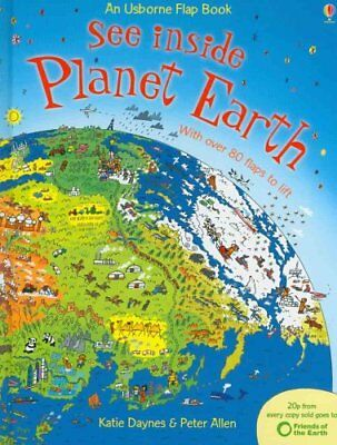 See Inside Planet Earth by Katie Daynes 9780746087541 (Hardback, 2008)