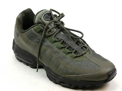 MENS NIKE AIR Max 95 Khaki Lace Up Classic Sneakers Pumps