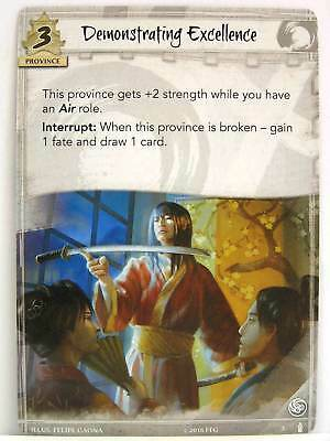 Legend of the Five Rings - 1x #003 Demonstrating Excellence - Breath of the Kami
