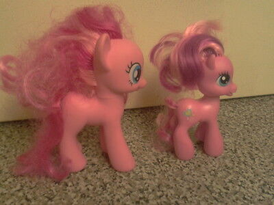 Pair Of Original My Little Pony. One Is 2010 & One 2009. £5 (Free Uk Postage)