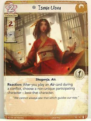 Legend of the Five Rings LCG - 1x #008 Isawa Uona - Breath of the Kami