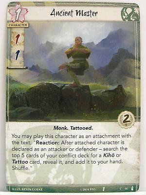 Legend of the Five Rings LCG - 1x #016 Ancient Master - Breath of the Kami