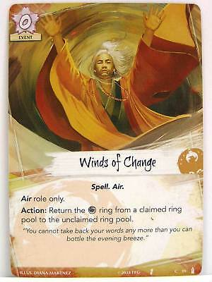 Legend of the Five Rings LCG - 1x #019 Winds of Change - Breath of the Kami
