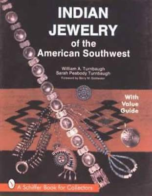 Indian Jewelry book Native American Southwest Turquoise