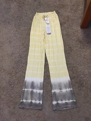 NWT!! A Pea in the Pod Pajama Sleep Pants Bottoms - Size Small - Tie-Dye