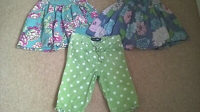 Girls Mini Boden and Joules shorts and skirts bundle. Age 5-6. So Cute!