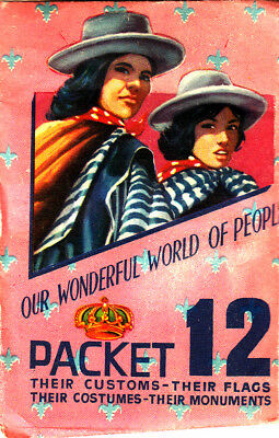 1963 Our Wonderful World of People - Sealed Stamp Pack #12