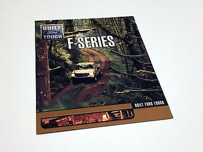 2002 Ford F-150 F-250 F-350 F-Series Preview Brochure