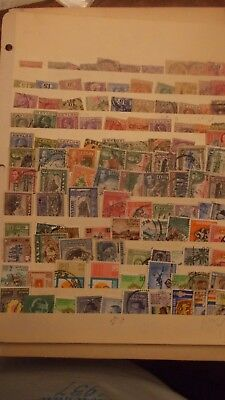Ceylon-Sri Lank Early Stamp Collection - 300 Different Stamps Mint And Used.