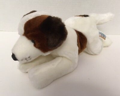 """Animal Alley JACK RUSSELL TERRIER Puppy Dog 11"""" Plush Toys R Us 2000 Stuffed"""