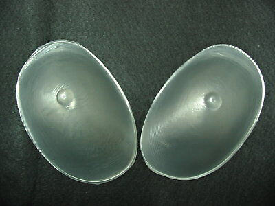 Transparent Silicone Bra Inserts Silicon Breast Gel Boob Enhancers Nu Form Pads