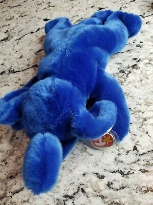 TY BEANIE BABY Buddy Original 1998 RARE Royal Blue